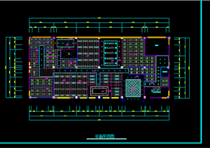 某现代风格办公建筑方案设计CAD图纸