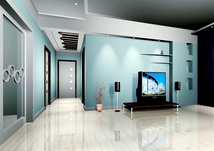某现代风格室内空间装饰设计3dmax模型素材 含效果图 5