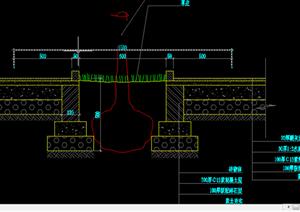 某现代风格园林景观树池扩初图设计CAD图纸20