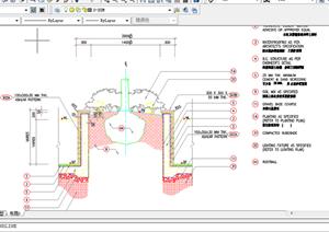 某现代风格园林景观树池扩初图设计CAD图纸32