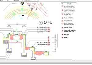 某现代风格园林景观树池扩初图设计CAD图纸39