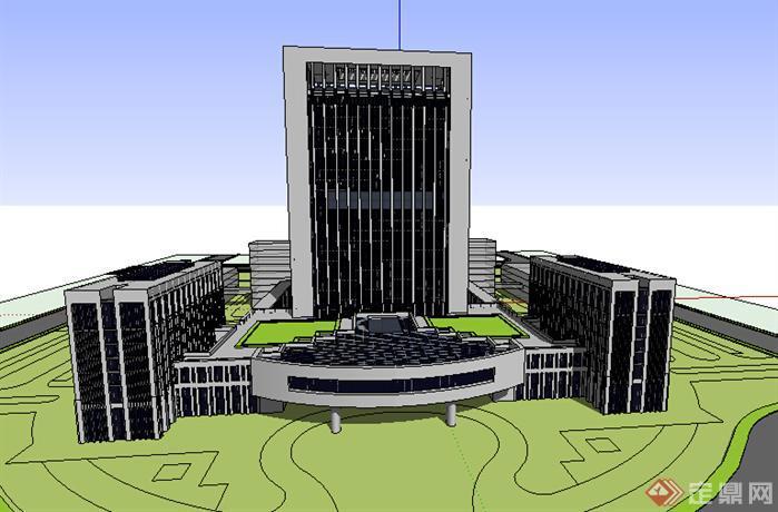 对现代酒店的建筑设计探究