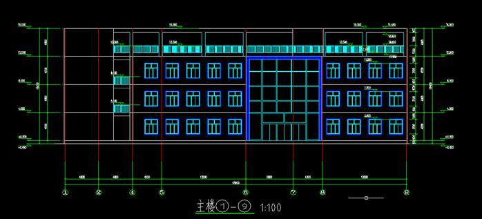 某大学生活动中心建筑设计方案(CAD房产、suv方案方案cad操作图片