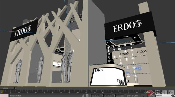 香港服装展-展台设计搭建效果图