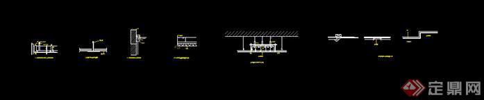 现代室内构造节点图作业(2)