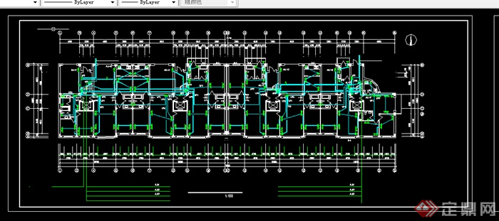 某居住建筑电气施工图设计cad图纸