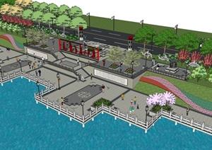 河道景观设计方案
