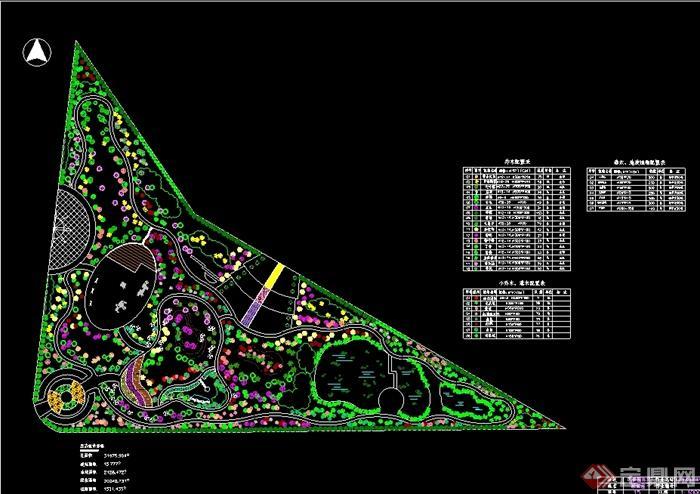 城市街头绿地三角形_设计分享图片