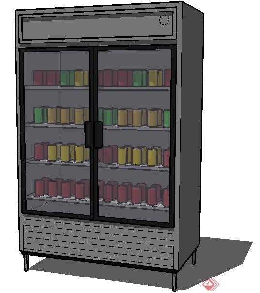 冰柜外架子制作图片