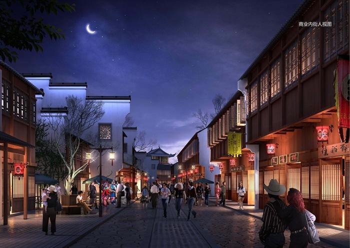 江南中式文化旅游景区商业街步行街方案设计全套文本图片