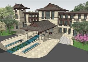 东南亚建筑特征_中科院西双版纳热带植物园_景点数据库_中华