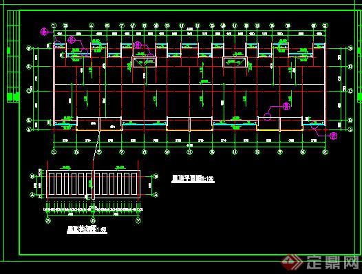某单元式多层住宅建筑设计施工图cad图纸