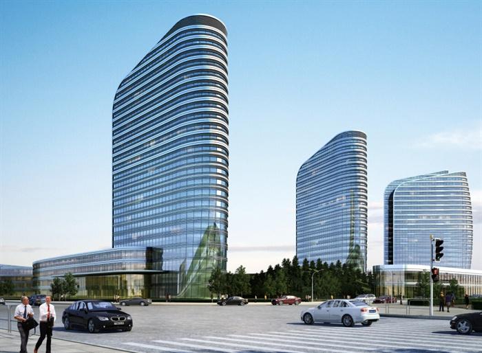 多个医院建筑设计效果图(jpg格式)