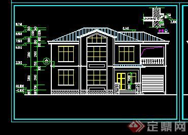 浙江农村民居设计图展示