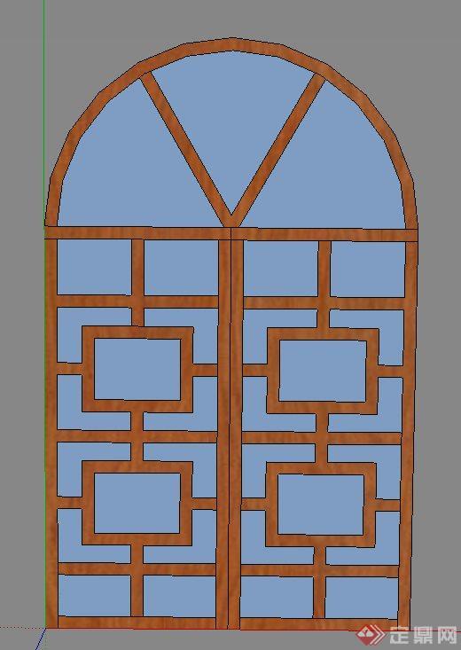 室内装饰门窗设计su模型(1)