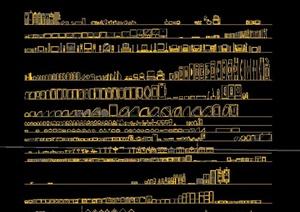 多个家装设计CAD图块
