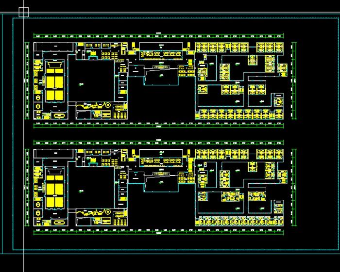 某多层艺术酒店建筑设计方案cad图纸