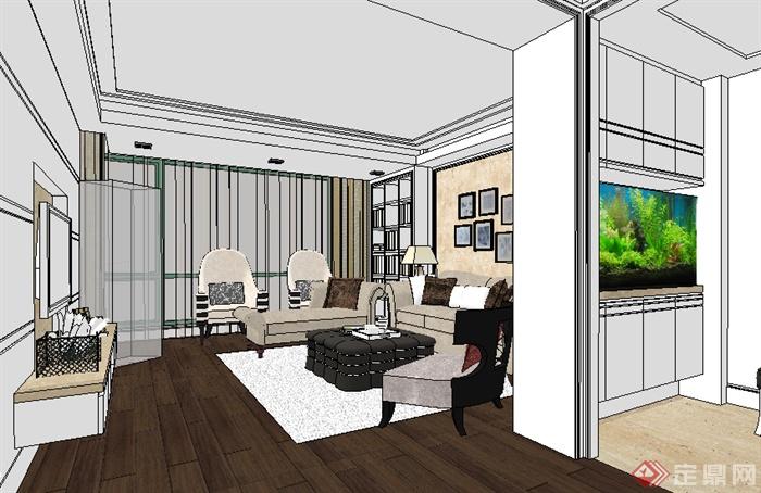 住宅空间设计之室内空间 (3)