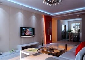 多张客厅装饰设计效果图合集