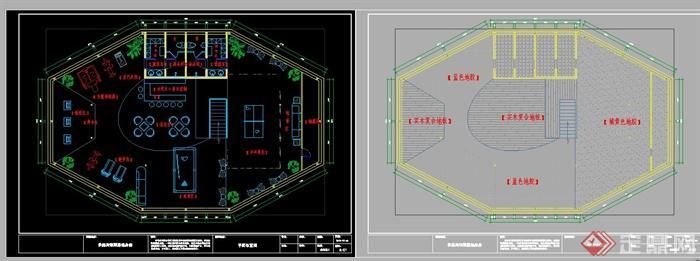 某图纸健身房装饰设计全套宾馆(含CAD+SU+效图纸套管v图纸夹图片