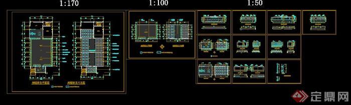 多类花池做法CAD施工图(3)