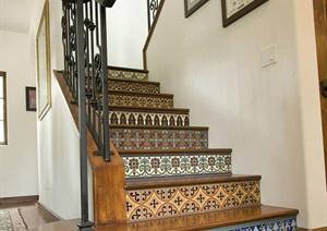 某楼梯设计方案效果图
