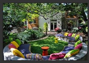 487张庭院景观设计实景图和彩平图-其他实景图园林景观设计方案效果图片