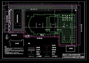 某大学操场工程施工组织设计
