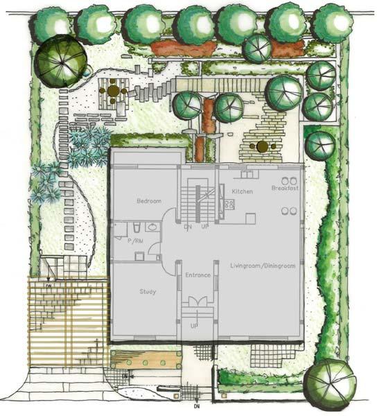 某两层别墅建筑设计户型图(dwg格式)[原创]