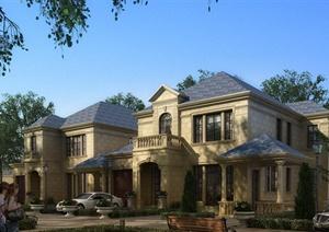 15张精致别墅设计建筑效果图