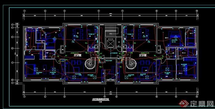 某住宅建筑设计电气施工图[原创]