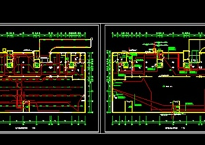 某居住建筑人防电气图纸CAD设计