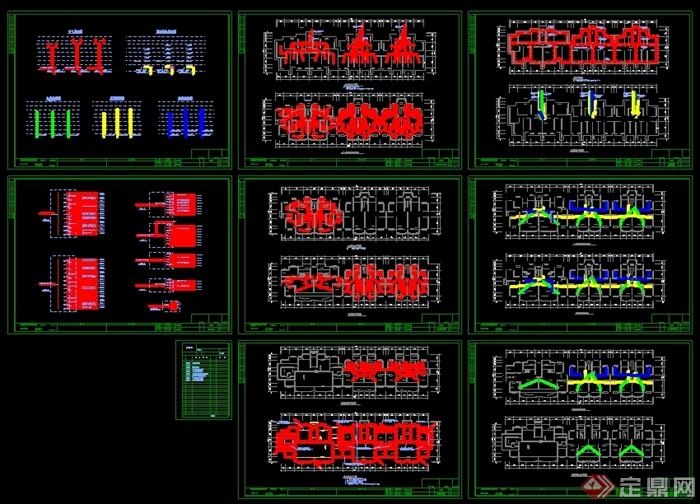 某6层住宅楼建筑设计电气设计图