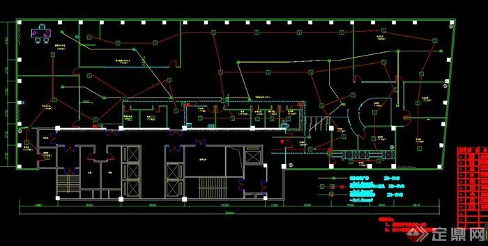 某住宅室内设计消防报警平面图