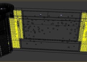 某酒店空间装饰设计3DMAX模型