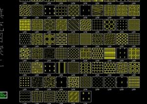 某CAD地面填充材料设计参考