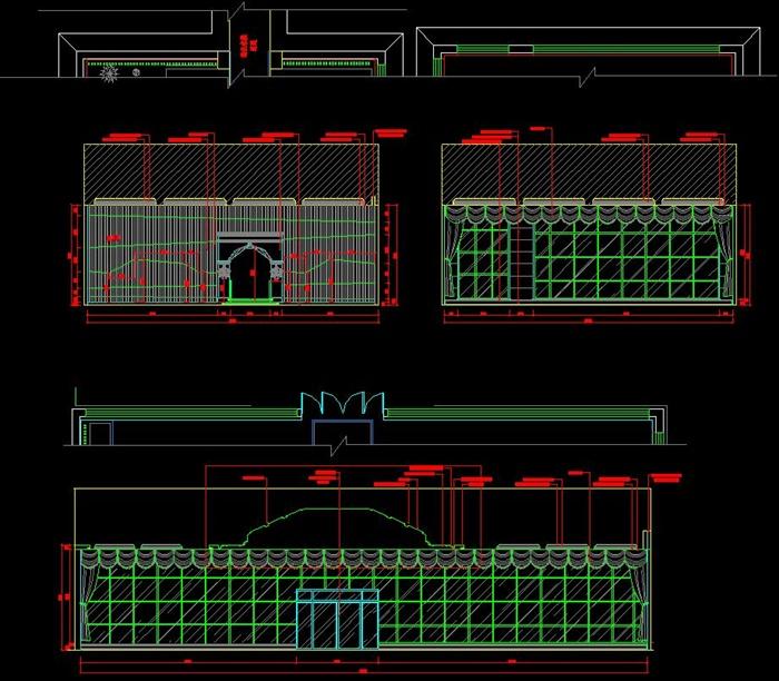 室内装修施工图(含效果图),该设计布局合理,图纸制作非常详细,