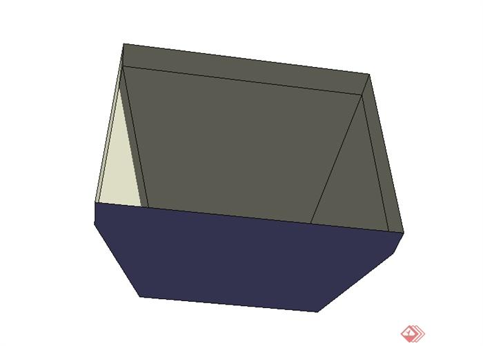 某室内火炉设计su模型素材2