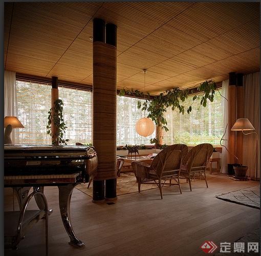 某新艺术别墅玛利亚风格建筑设计以及室内设计花园农村大v别墅别墅图片
