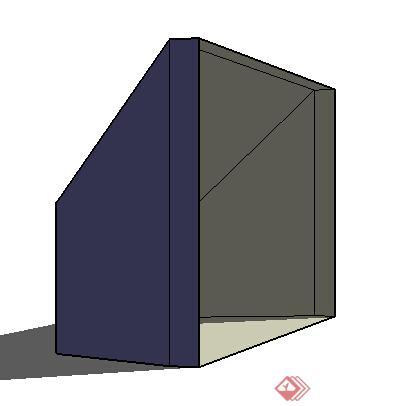 设计素材之火炉素材su模型2