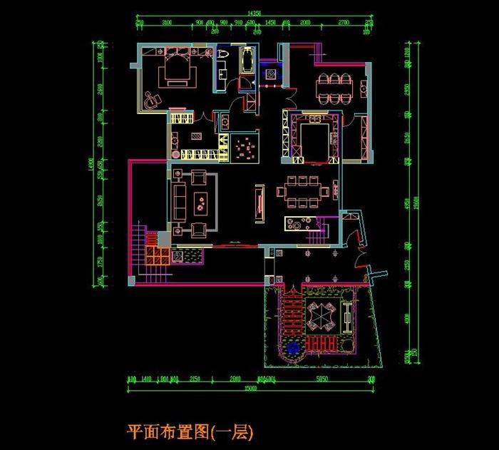 某新中式别墅全套装修施工图带效果图实景图
