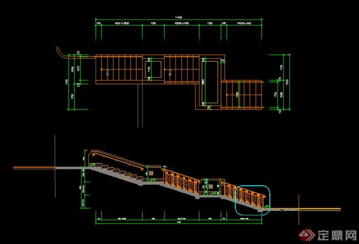 某户外链轮图纸v链轮CAD楼梯20a图纸台阶图片