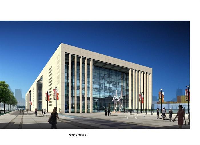 某市民文化中心禀赋广场规划设计方案大师[原建筑设计景观应具备的文本