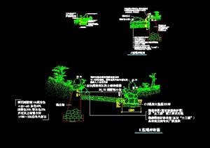 六种堤岸景观设计施工图