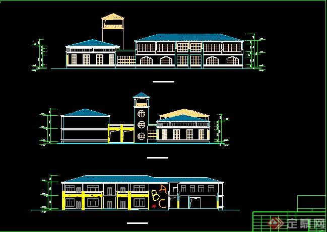 某幼儿园学校建筑设计图纸[原创]