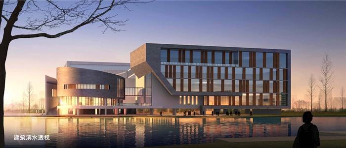 某高校建筑系馆综合教学楼建筑设计设计 含效果图