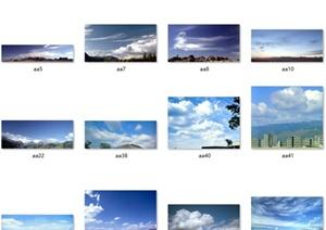 108款天空背景设计素材