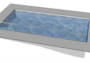优秀园林景观v大全水景喷泉3D大全模型装修纯设计图图片