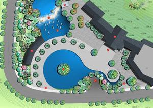 习水水泊凉山酒店景观规划设计方案