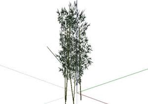 2D乔木7SketchUp(SU(草图大师))模型